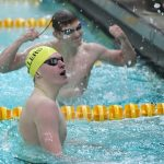 NHS Boys Varsity Swimming falls to Hamilton Southeastern 129 – 57