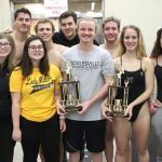 Noblesville Boys Varsity Swimming finishes 1st place at Noblesville Invitational