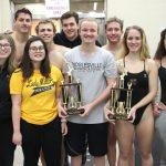 Noblesville Girls Varsity Swimming finishes 1st place at Noblesville Invitational