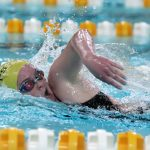 Noblesville Girls Varsity Swimming beats Westfield 112 – 73