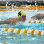 Boys Varsity Swimming falls to Westfield 94 – 91