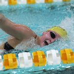 Girls Varsity Swimming falls to Sacred Heart Academy 129 – 51