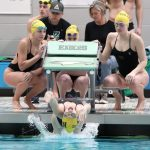 Girls Varsity Swimming falls to Zionsville 109 – 74