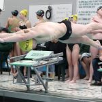 Boys Varsity Swimming falls to Zionsville 116 – 70