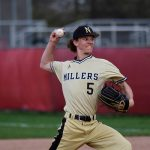 Miller Baseball Holds On for HCC Victory Over Brownsburg