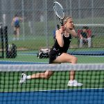 Miller Tennis finishes 7th place at HCC Tournament