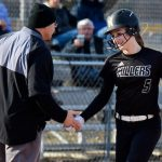 Ella White breaks single-season school record for home runs in Miller Softball victory over Zionsville