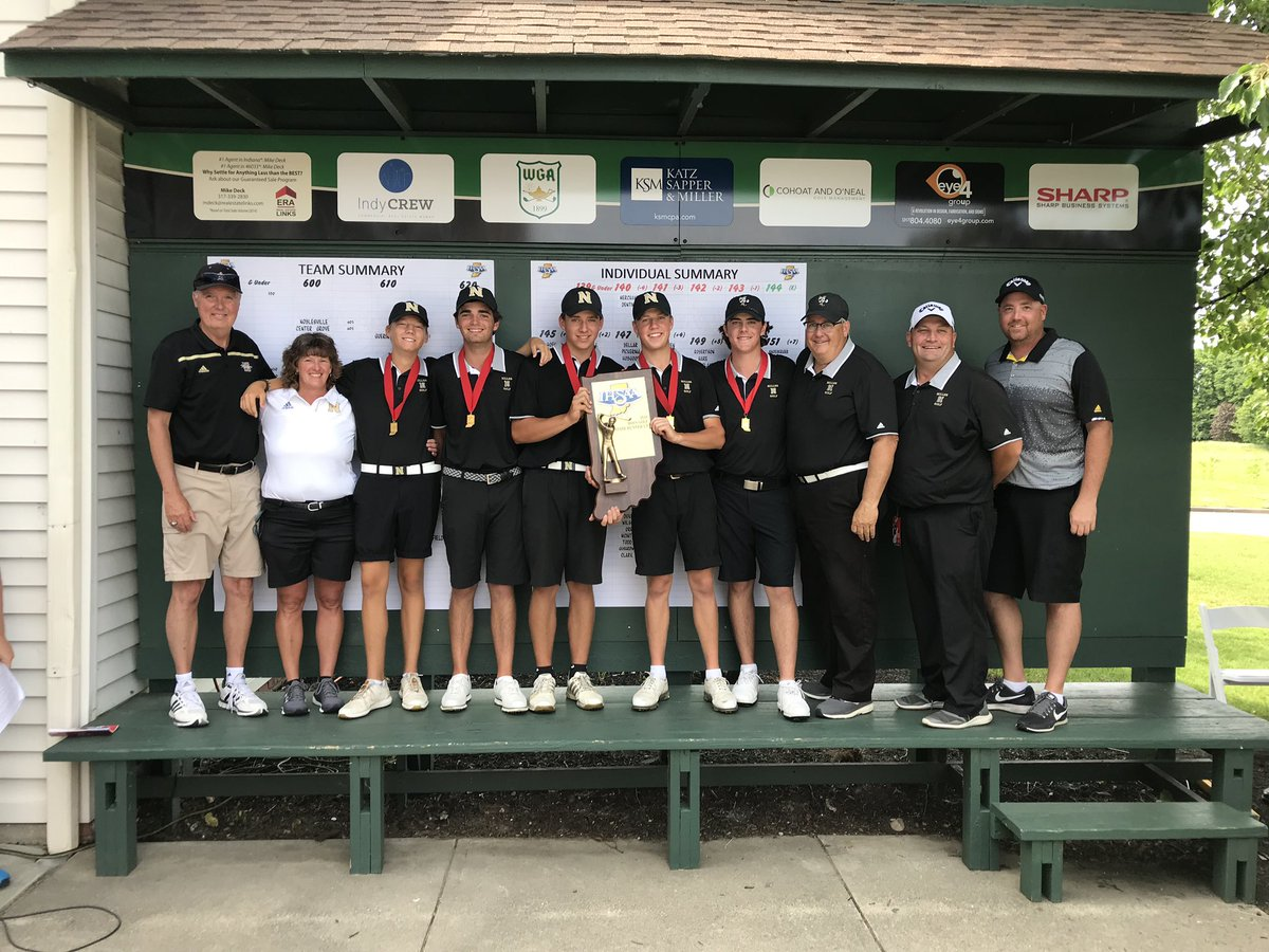 Millers Earn State Runner-Up at IHSAA Boys Golf State Finals