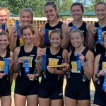 Miller Girls Cross Country Wins Plainfield Relays