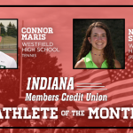 And the Indiana Members Credit Union October Athlete of the Month is….