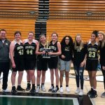 Girls Freshman Basketball wins HCC Tournament, beats HSE