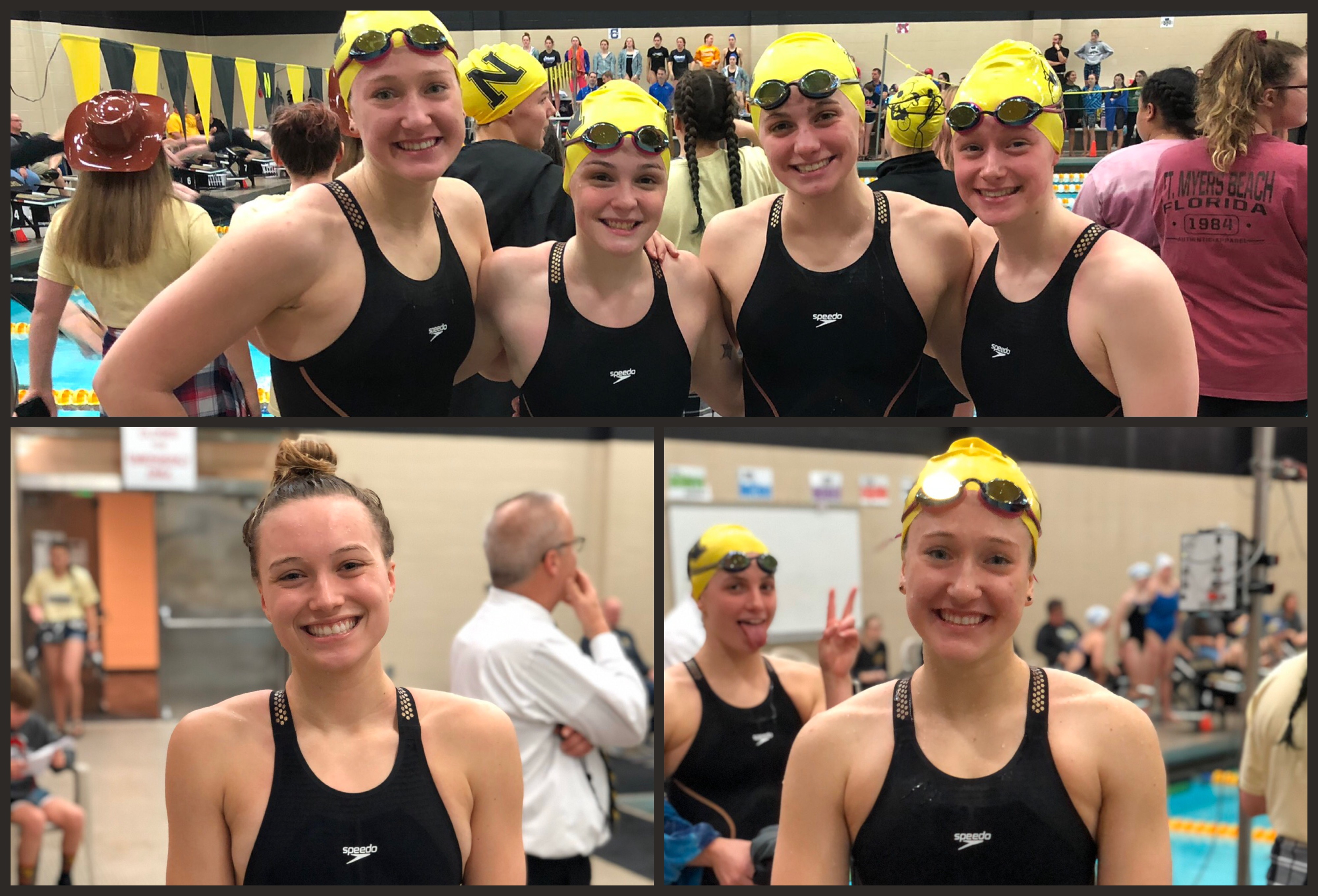 Records fall as Miller Girls Swimming finishes 2nd place at IHSAA Sectional Finals
