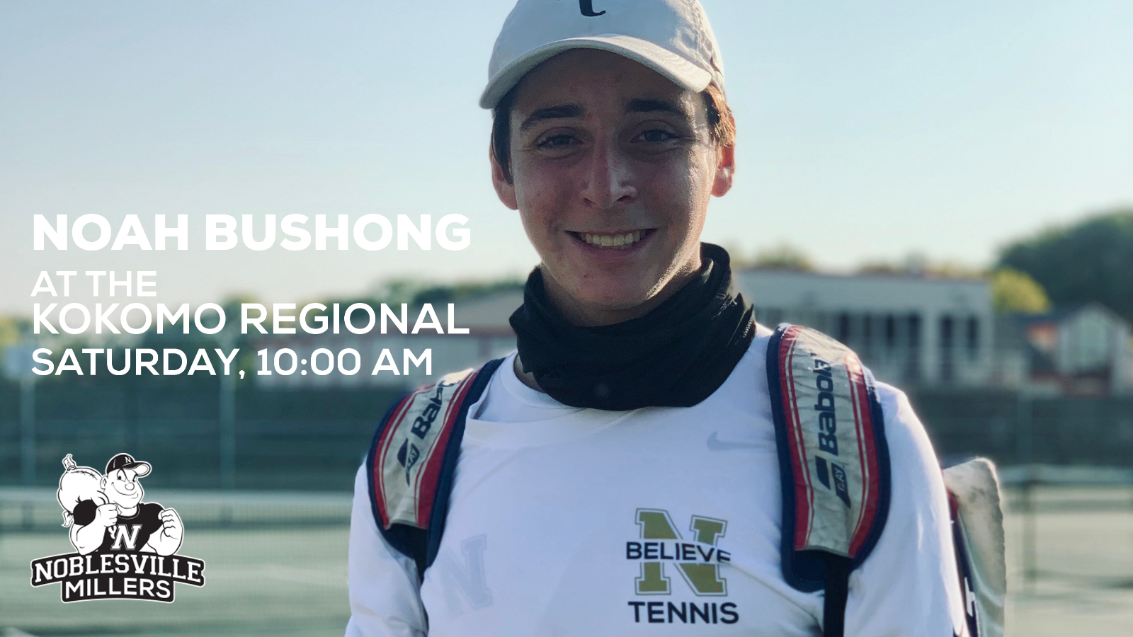 Noah Bushong Making History for Miller Tennis