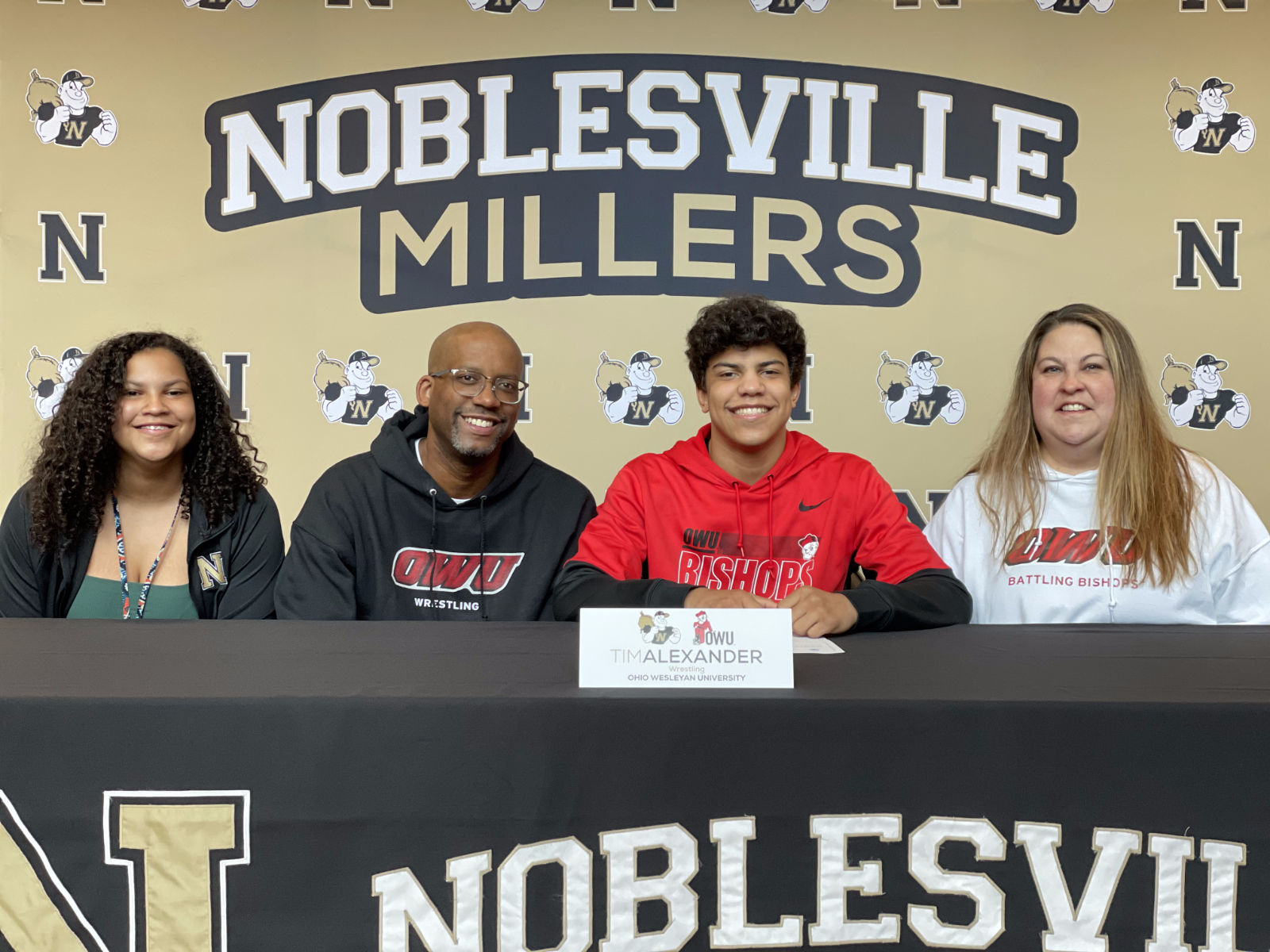 Tim Alexander signs with Ohio Wesleyan University