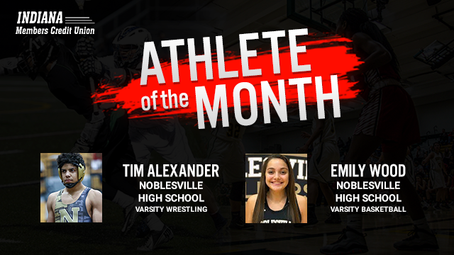 Indiana Members Credit Union Would like to Recognize as the February Athlete of the Month!