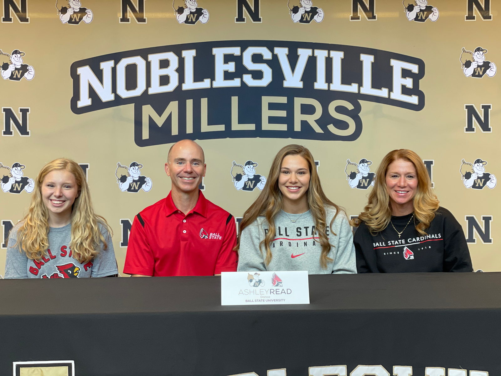 Ashley Read signs with Ball State University