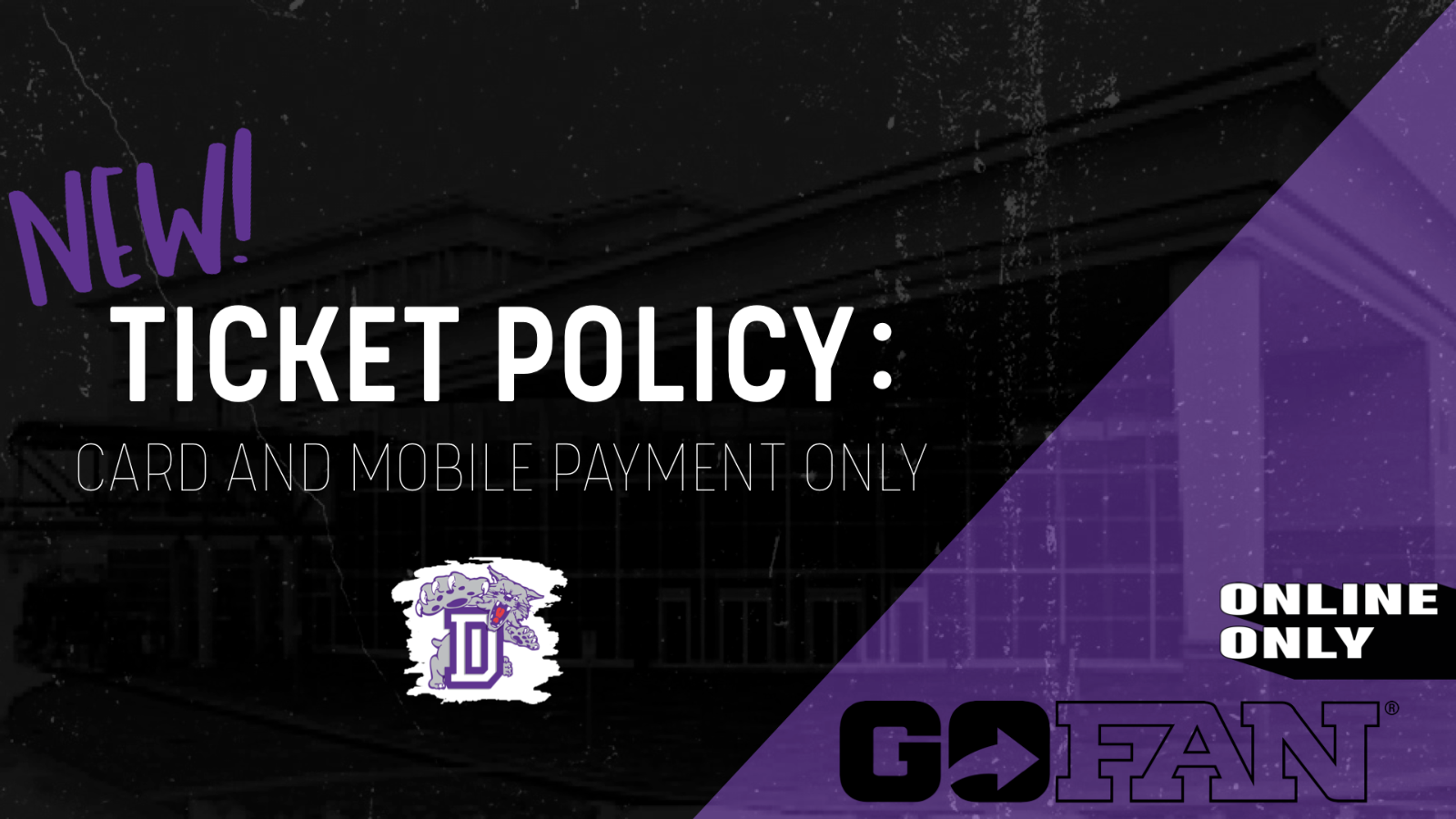 NEW TICKETPROCEDURE;Card & Mobile Payment Only