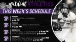 Wildcat Athletics this week