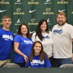 Rachel Larson signs with Southern Wesleyan University