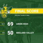 Aiken High Rolls Past Midland Valley 69-50