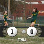 Girls Varsity Soccer beats Irmo 1 – 0
