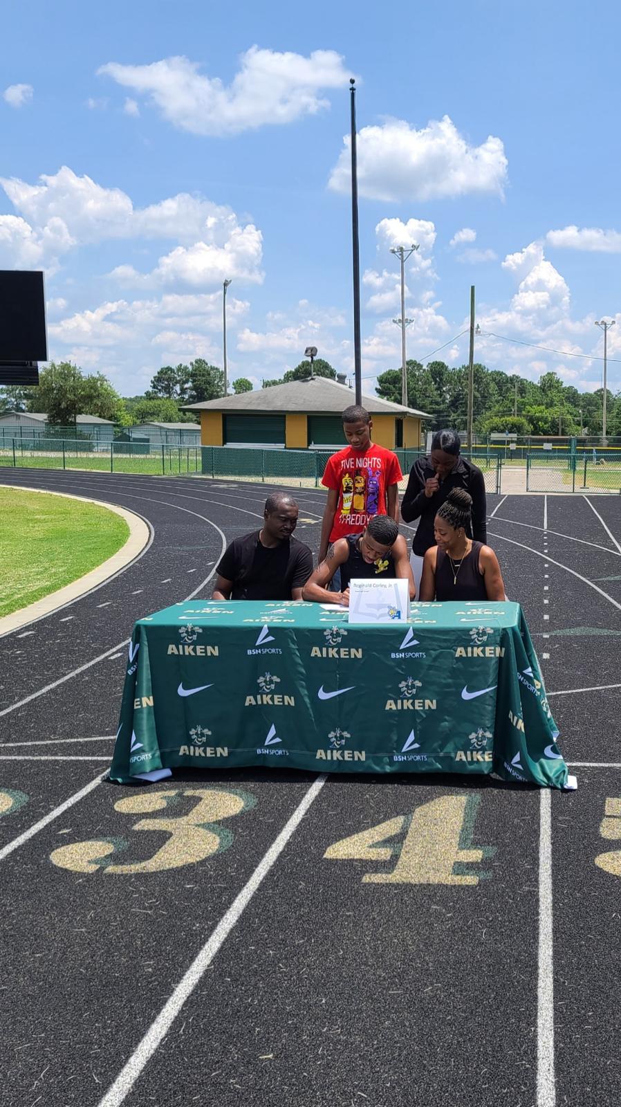 Reginald Corley, Jr. signs with Allen!
