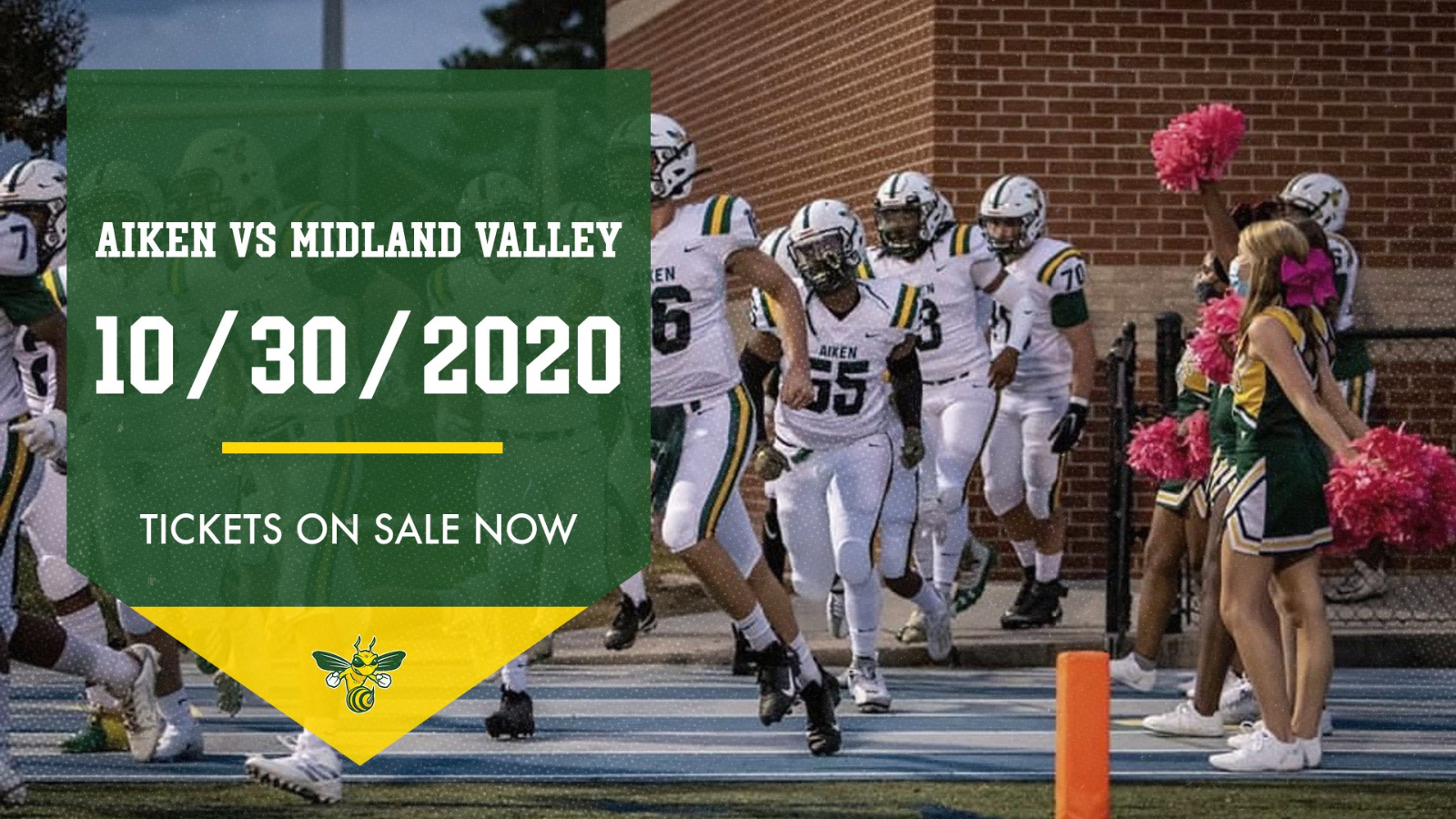 Homecoming vs Midland Valley 10/30/2020!