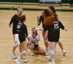 Girls Varsity Volleyball beats James Island Charter 3 – 0
