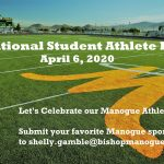 National Student Athlete Day – April 6, 2020