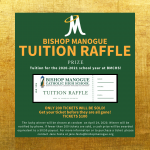 Tuition Raffle! Get Your Tickets Now!
