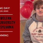 David McLean Signs LOI for Swimming!