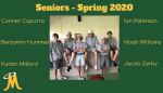 Boys Golf – Senior Day Spring 2020