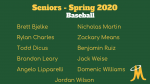 Baseball – Senior Day Spring 2020