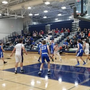 Varsity Boys BB vs. Coleman 1-7-20
