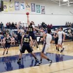 Mustangs fall to the Wildcats in Boys Basketball Action