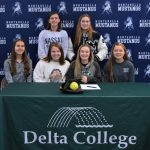 Paige Courser Signs with Delta College