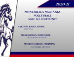 Announcing Montabella Volleyball MSAC All Conference