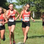 Girls Varsity Cross Country finishes 17th place at Harrison Invite