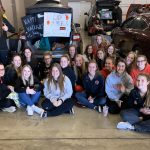 Girls Basketball Supports Trunk or Treat