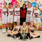 7th Grade Girls Basketball Wins Ben Franklin Tourney