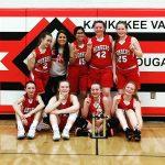 7th Grade Girls Basketball wins K.v. Invite