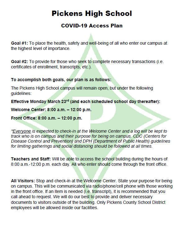 PHS COVID-19