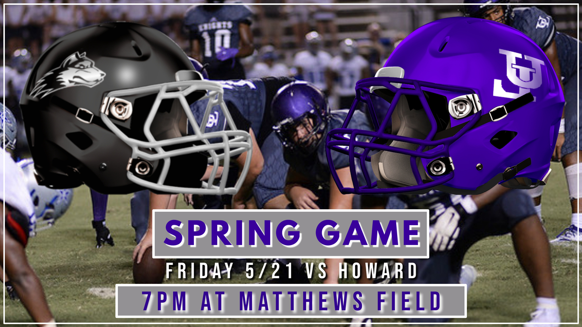 Spring Football Game Info