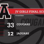Girls Junior Varsity Basketball beats Lithia Springs 40 – 27