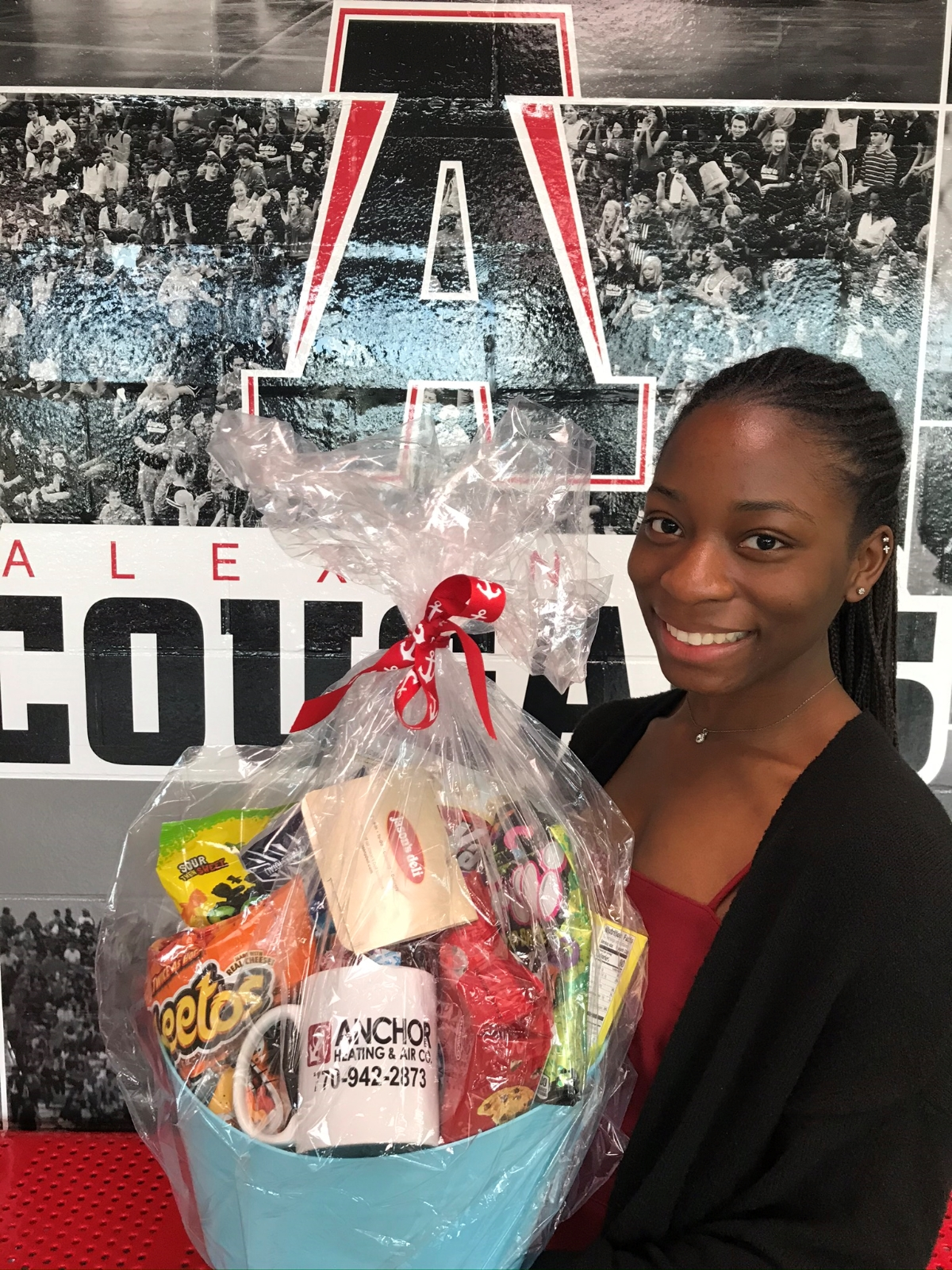 Anchor Heating and Air Athlete of the Month – Rickaiya Conyers