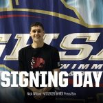 @Niick_Wilson of the @AquaCougs signs his NLI on the #ALXPressBox