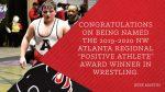 @ALXWrestling Junior, Jesse Martin Wins #PositiveAthlete Award