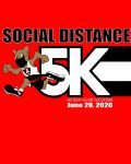 Social Distance 5K hosted by @ALXgirlssoccer