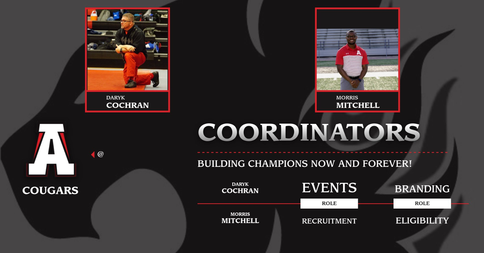 Introducing the Athletic Coordinators