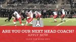 Are you the Next Head Coach for Alexander Football?